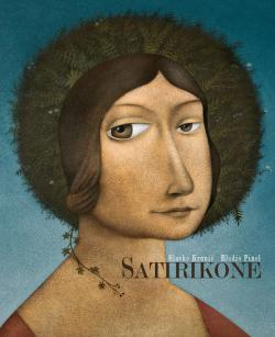 The book of Satiricons with the writer Elodie Pinel